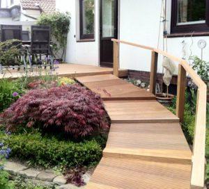 Döscher Tischler Terrasse Holz Boden